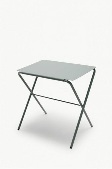Bow Table in Slate Grey