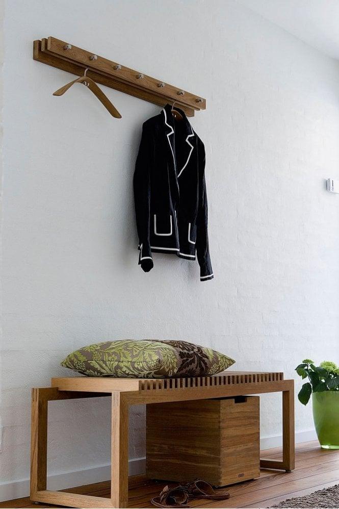 Skagerak Cutter Coat Rack 100cm in Teak