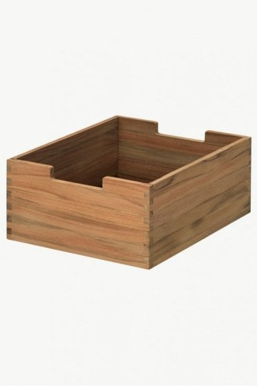 Cutter Small Box in Teak