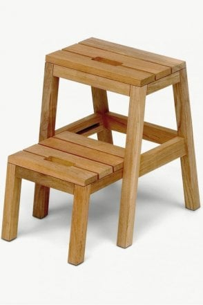 Dania Step Ladder in Teak