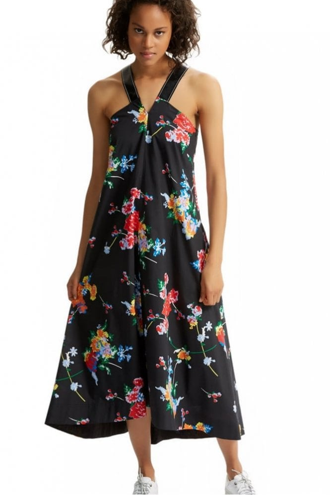 Sportmax Code Graphic Flower Dress