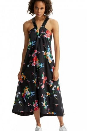 Graphic Flower Dress