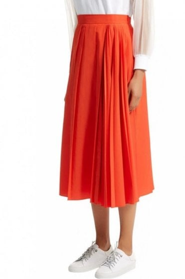 Multi Pleat Skirt