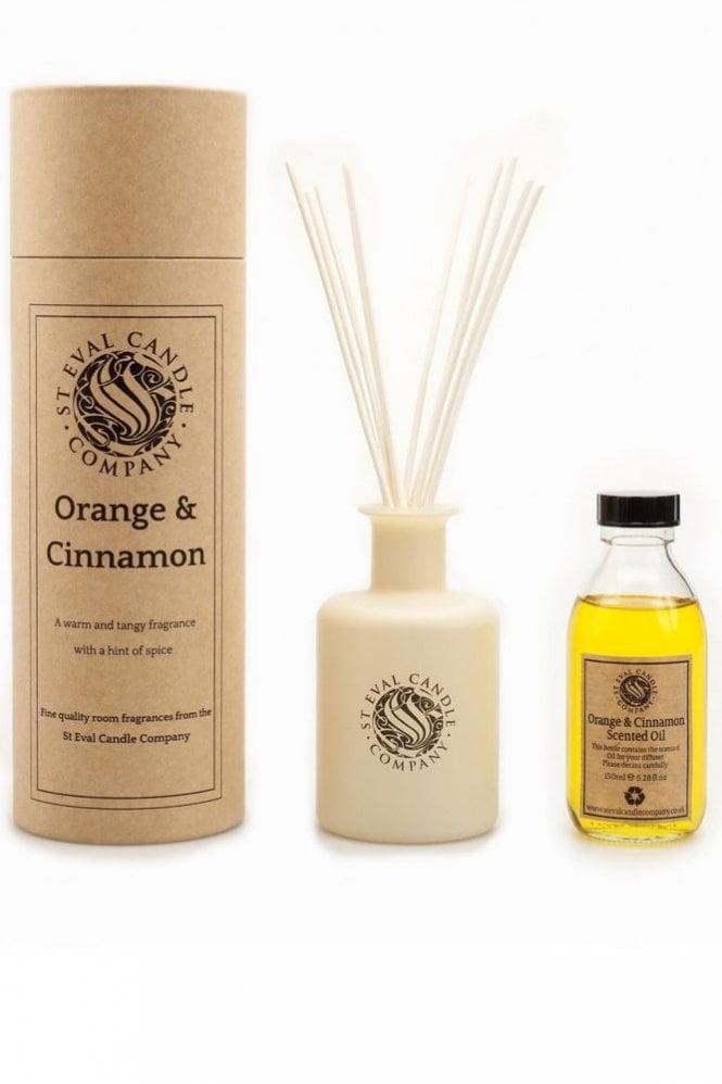 St Eval Orange & Cinnamon Reed Diffuser