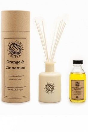 Orange & Cinnamon Reed Diffuser
