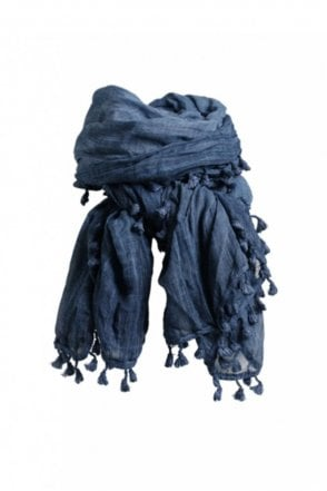 Aci Scarf in Denim Blue