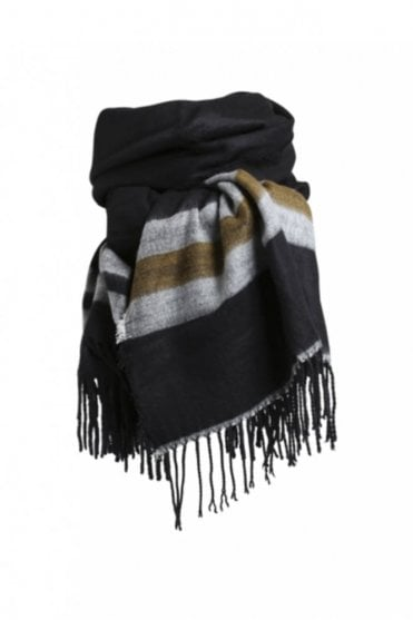 Jazz Scarf in Black