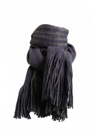 Kane Scarf in Blue Grey