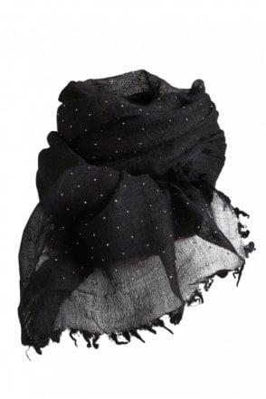 Neva Scarf in Black