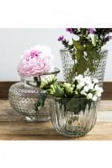 Sue Parkinson Home Collection Albany Glass Rivetted Vase