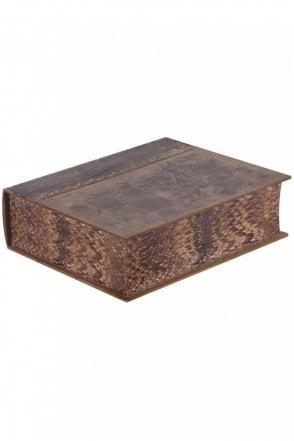 Antique Effect Mottled Book Box