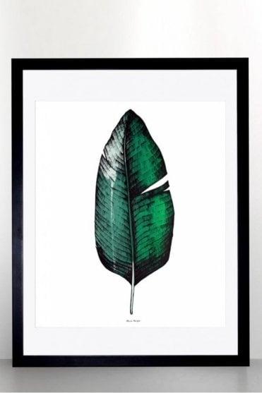 Banana Leaf Screen Print