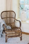 Sue Parkinson Home Collection Bandung Rattan Spider Chair