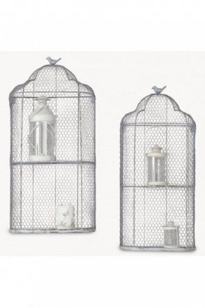 Brookby Bird Cage Wall Unit