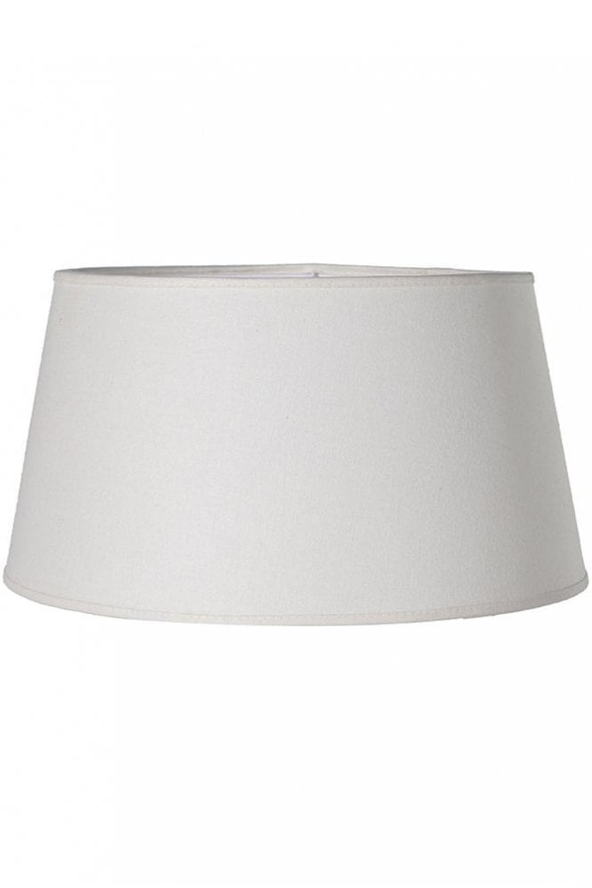 The Home Collection Cream Silk Drum Shade