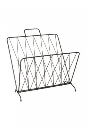 Diamond Raster Magazine Rack
