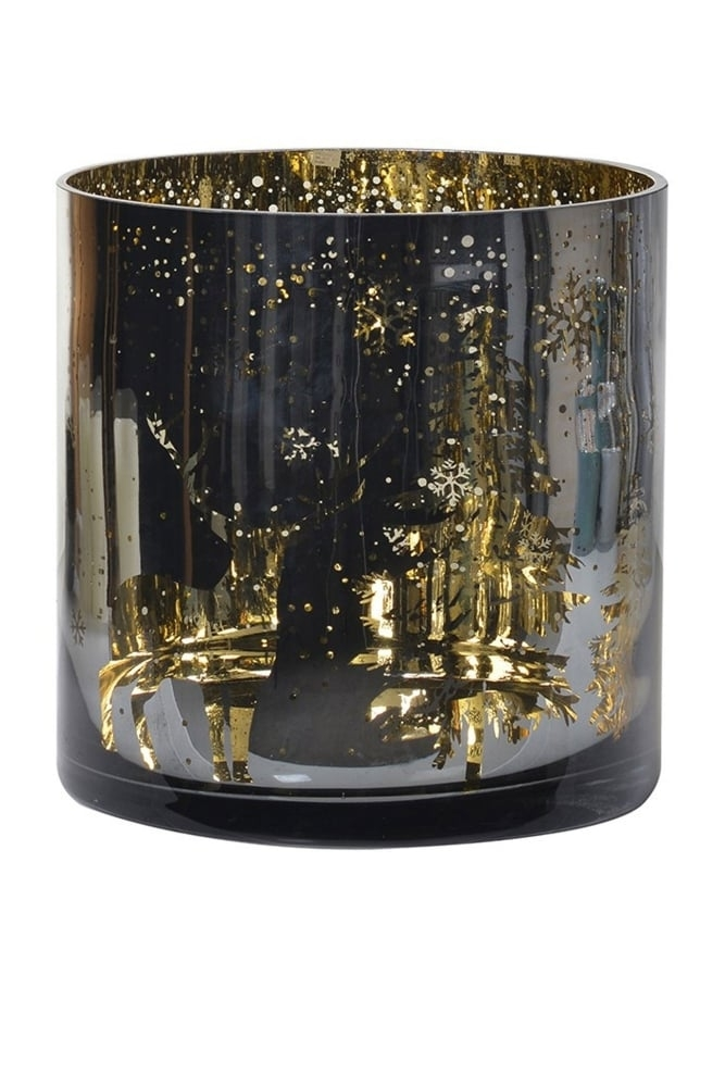 Sue parkinson home extra large metallic candleholder at - Lifestyle home collection ...