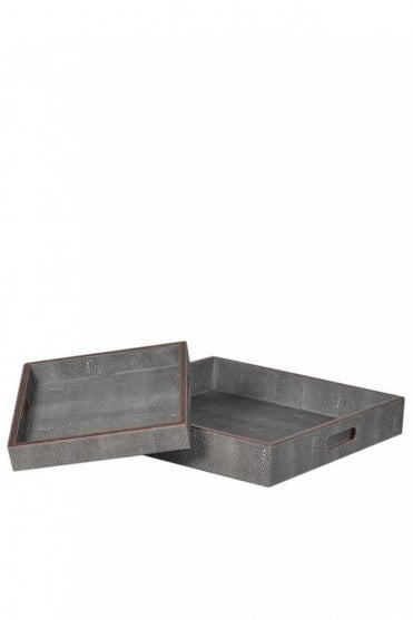 Faux Leather Tray