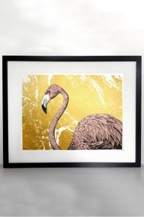 Flamingo Screen Print