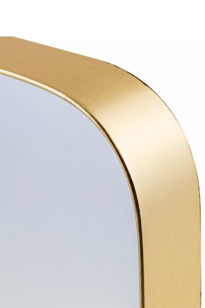 The Home Collection Gold Framed Arden Cheval Dressing Mirror