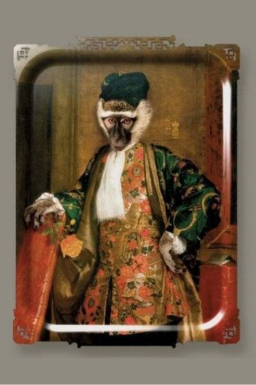 Ibride Galerie De Portraits Large Rectangular Tray – Cornelius