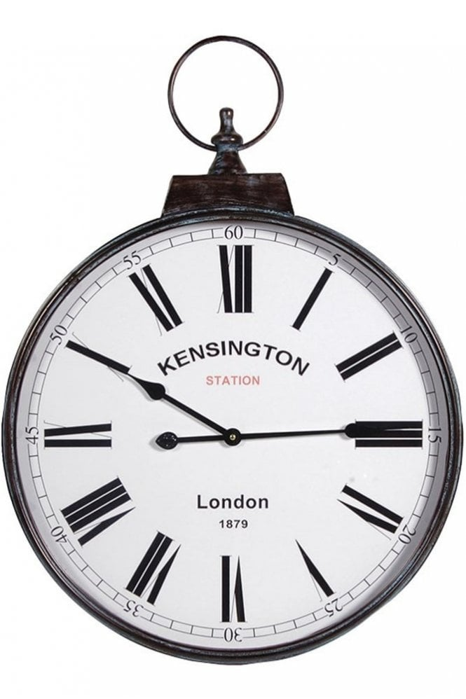 Sue Parkinson Home Collection 'Kensington Station' Wall Clock