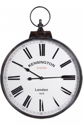'Kensington Station' Wall Clock
