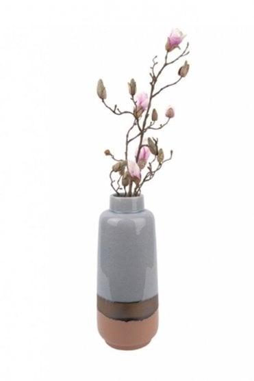 Large Blue Unique Vase