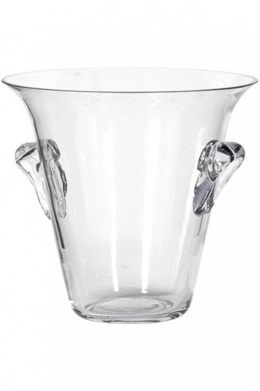 Large Glass Champagne Bucket