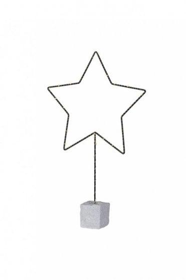 Lit Black Star