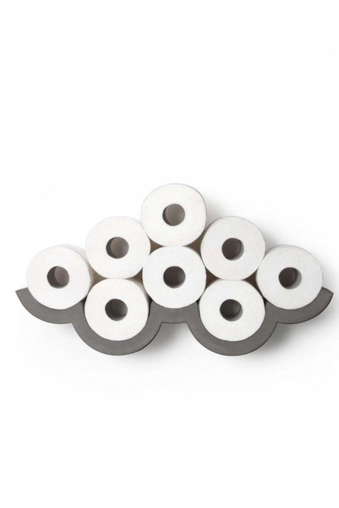 Sue Parkinson Home Collection Lyon Beton Concrete Cloud Small – Toilet paper shelf