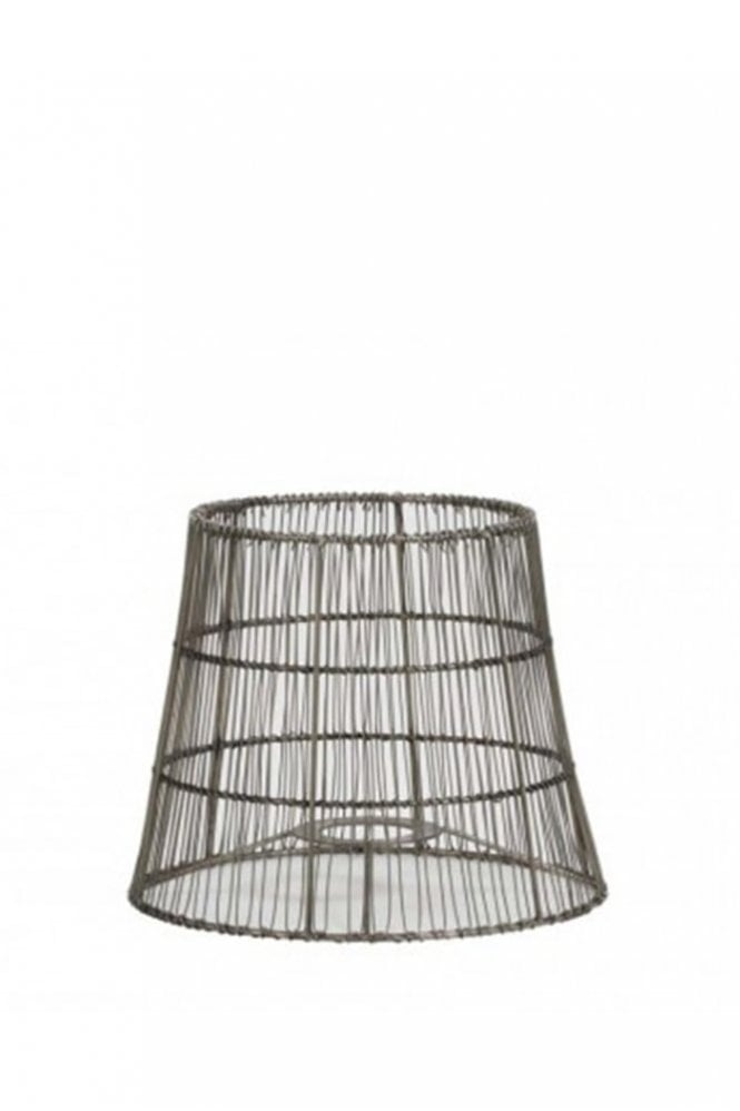 The Home Collection Manusa Wire Shade in Nickel