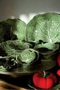 Sue Parkinson Home Collection Natural Cabbage Salad Bowl