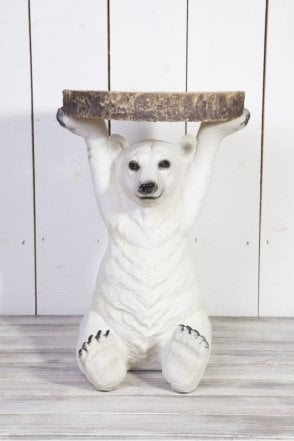 Petri Polar Bear Side Table