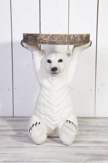Petri Polar Bear Side Table