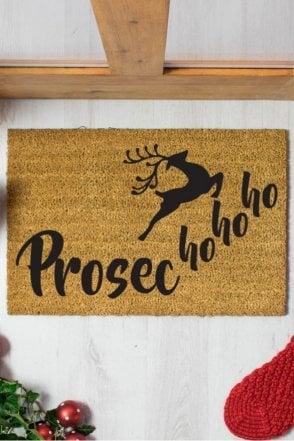 Prosec Ho Ho Ho Doormat