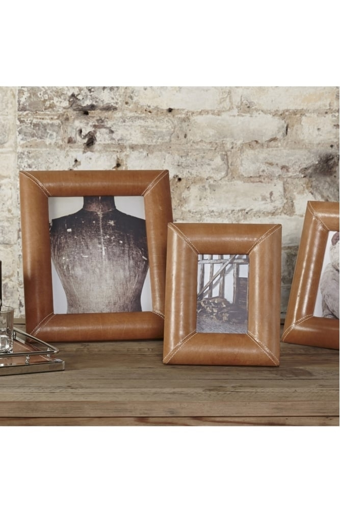 Sue parkinson home redlands large leather frame at sue - Lifestyle home collection ...