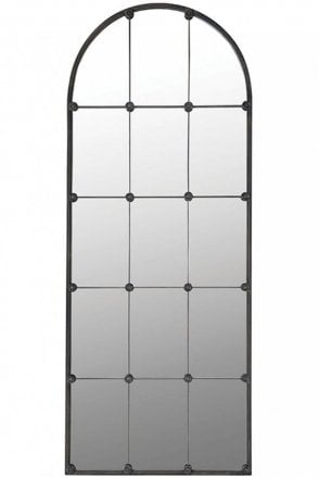Sectioned Wall Mirror