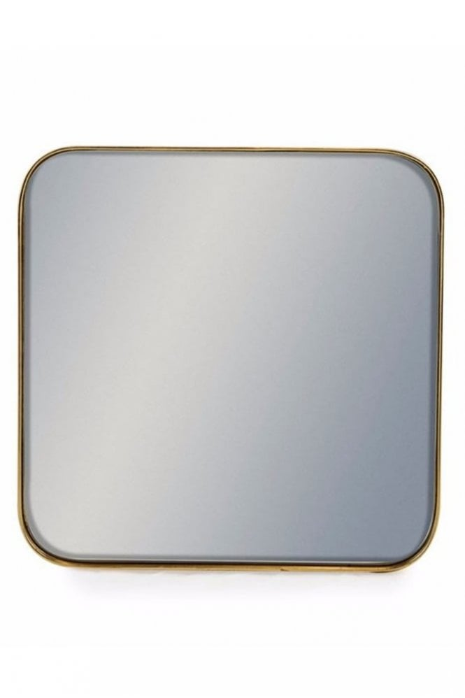 Sue Parkinson Home Collection Square Gold Framed Arden Wall Mirror