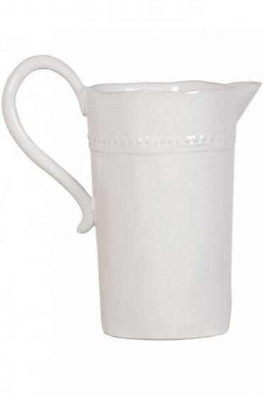 Tall Pottery Pitcher