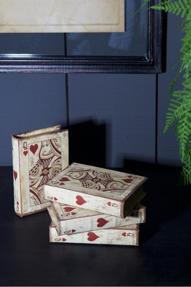 Sue Parkinson Home Collection The Queen Of Hearts Book Box