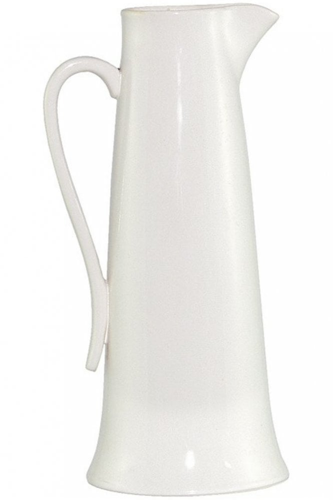 Sue Parkinson Home Collection Tudor Rose Tall Ivory Jug