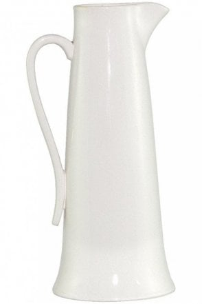 Tudor Rose Tall Ivory Jug