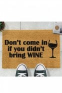 Sue Parkinson Home Collection Without Wine Doormat