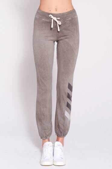 Chevron Basic Sweatpant in Vintage Military