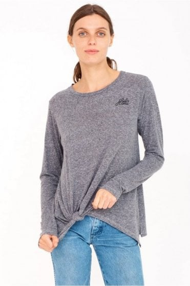Hola Knotted Longsleeve top