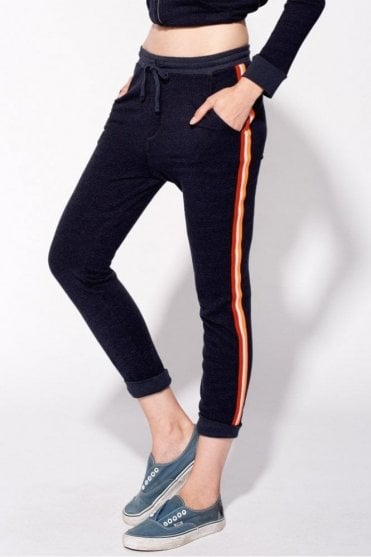 Slash Pocket Pant With Trim