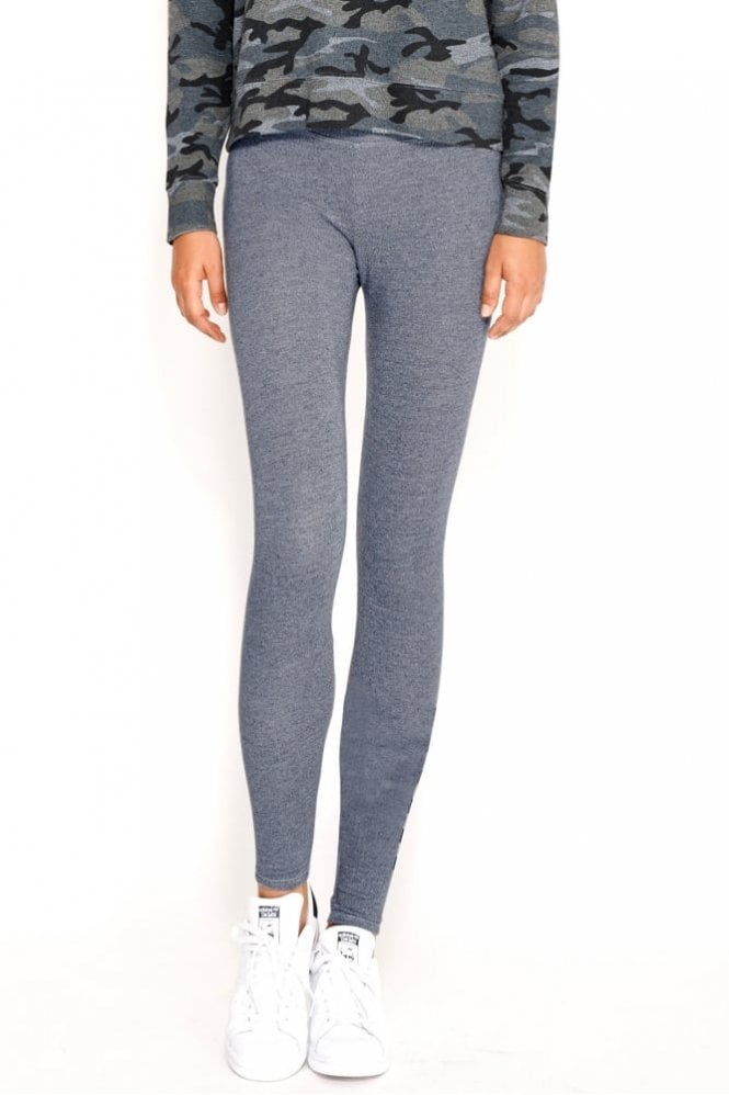 Sundry Yoga Pant in Heather Chambray