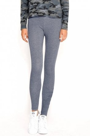 Yoga Pant in Heather Chambray