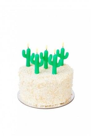 Cactus Cake Candles